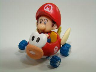 Mini Figure Super Mario Bros Kart Baby Peach Princess