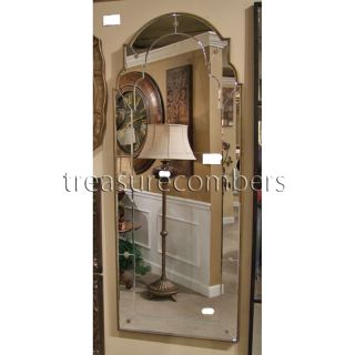 Ballard Designs Stella Gold Venetian Wall Floor Mirror