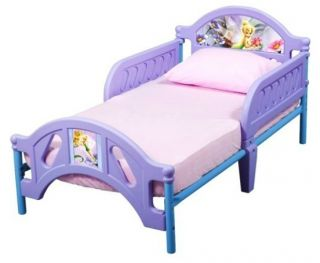 Fairies Toddler Bed Frame Girls Childs Size Safety Rails Crib