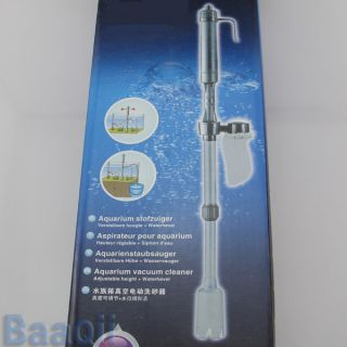 Auto Siphon Vacuum Water Pump Gravel Cleaner for Fish Tank Aquarium