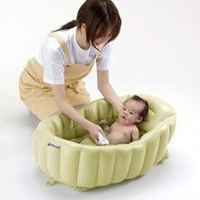 Japanese Baby Bath Tub Cushion Seat Portable Baby Plushfrom Japan