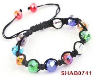 Section Crystal Clay Bead Sham Balla Friendship Charm Bracelet