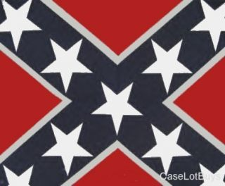 cotton confederate rebel flag bandana head wraps washer and dryer safe