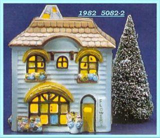 Flower Shop 1982 Department Dept 56 Snow Village D56 SV