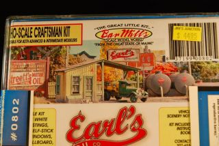 Bar Mills HO Scale Earls Oil Co Kit 0802