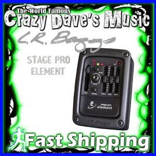 New LR Baggs Stagepro Element Active Pickup Preamp