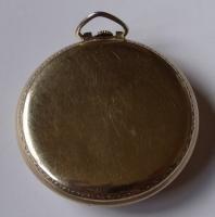 Veriy RARE Bulova Swiss Pocket Watch 17J Gold Plated