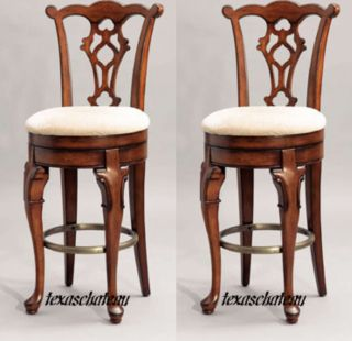Chippendale Style Furniture Counter Bar Stools Chairs