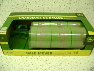 John Deere Round Bale Mover w 6 Bales 1 16