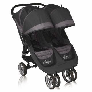 Baby Jogger City Mini Double Exclusive Black Gray 87171