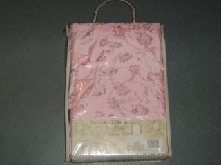 Jessica McClintock Baby Girl Blushberry Dream Window Valance Pink
