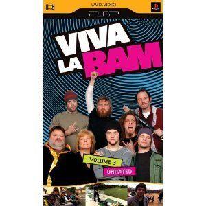 Viva La Bam Vol 3 UMD Video for PSP