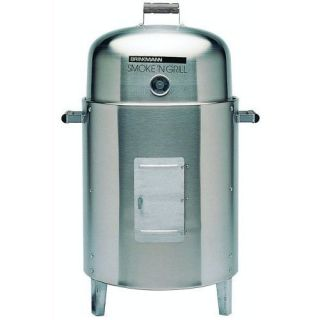 Steel Charcoal Water Smoker Smoke Barbeque Barbecue BBQ Grill