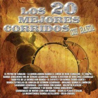 Con Banda Los 20 Mejores Corridos Con Banda CD New 801472416623