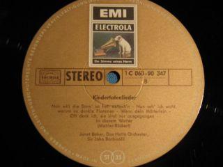 Mahler Baker Barbirolli German Electrola Stereo