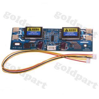 1pc 4 Lamp Backlight Universal Laptop LCD CCFL Inverter 10 28V for 15