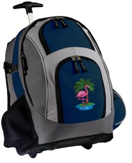 Rolling Backpack Cute School Bag Carry on with Wheels Wheeled Bags