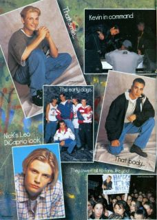 Backstreet Boys Nick Carter Howie Dorough PINUPS