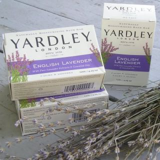Yardley English Lavender Bar Soap 4 25 oz Bath Soap for Hands and Body