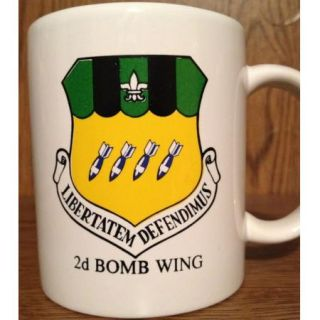 Bomb Wing Squadron Unit Coffee Mug 8th Air Force Barksdale AFB