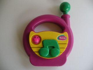 Barney Dinosaur Musical Toy Infant