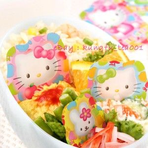 Kitty & Cathy Food Bento Divider Baran Plastic Paper Party Decorate