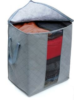 Charcoal Non smell clothing Storage Bag Organizer Bag Size 50X44X30cm