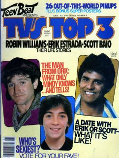 Beat Presents TVs Top 3 Erik Estrada Robin Williams Scott Baio