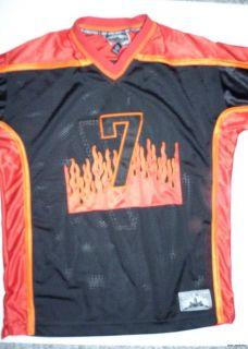 Steve Barrys Athletic City Wide 7 Hockey Jersey Mens Size Large Shirt