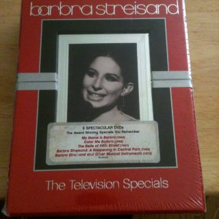 Barbra Streisand The Television Specials DVD 2005 5 Disc Set