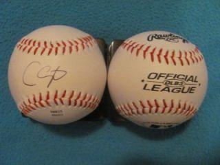 Chris Carpenter ST LOUIS CARDINALS Signed Rawlings Baseball w/ COA