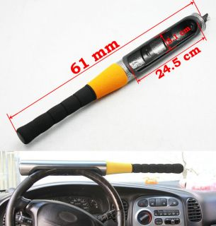 Universal Car Baseball Bat Style Steel Steering Wheel Security Lock