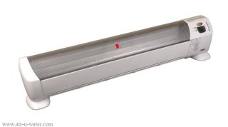 product description the honeywell hz 519 whole room baseboard heater