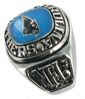 Balfour Ring Mens Football Carolina Panthers NFL Sz 13