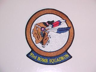 USAF 93RD BOMB SQUADRON 93 BS BARKSDALE B 52 STRATOFORTRESS BOMBER