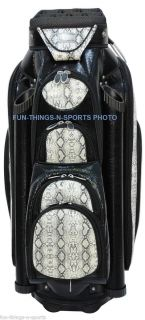 New Ladies Python Golf Cart Bag RJ Sports Limited Edition