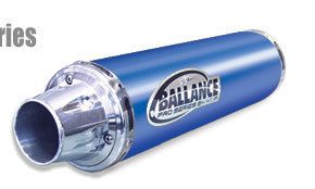 HMF Ballance Pro Exhaust Pipe Yamaha Raptor 700 Blue