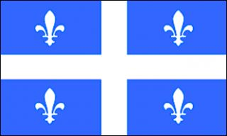 x5 Quebec Flag Canadian Province Banner Outdoor 3x5