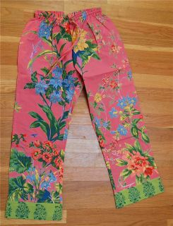 Equine Organix Childrens XS Breech Cover UPS Pink Cotton Floral Cute