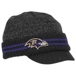 Baltimore Ravens NFL KE17 2011 Sideline Knit Hat with Visor