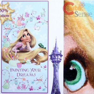 Disney Princess Tangled Rapunzel Cotton Beach Bath Towel