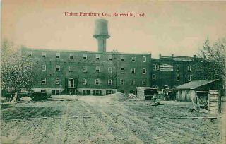 Batesville Indiana in 1908 The Union Furniture Company