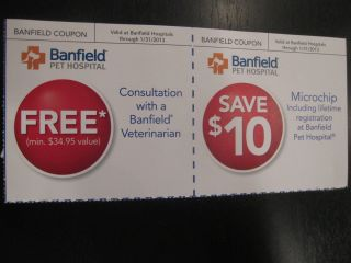 Banfield Pet Hospital Coupons $44 95 Savings Free Shipping