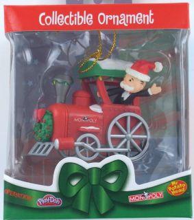 Engine Christmas Ornament Locomotive Basic Fun Retired New