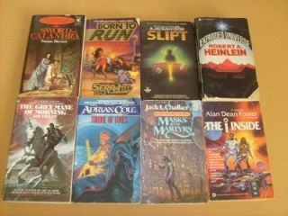 Science Fiction Fantasy Paperback Book Lot Instant Collection Free