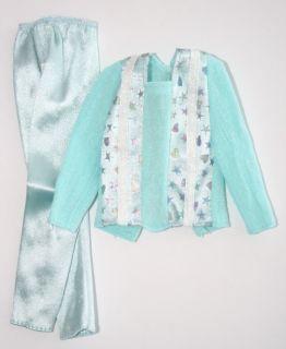 Barbie KEN 3841 My first Ken 1991 Long sleeve light blue dance shirt