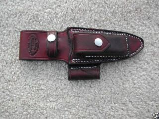 Custom Survival Knife Sheath for Bark River Bravo I