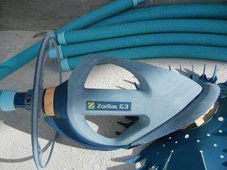Pool Cleaner Zodiac Baracuda G3 Cleaner with Hoses Only 18 Months Old