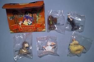 Burger King Anastasia Bartok Train Pooka Game New Toys