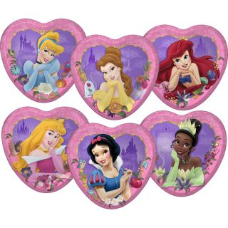Disney Princess Dreams Party Supplies Paper Heart Shaped 7 Dessert